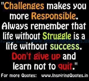 quotes about struggles and success. quotesgram