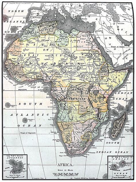 maps of africa africa map 1890 philatelic database