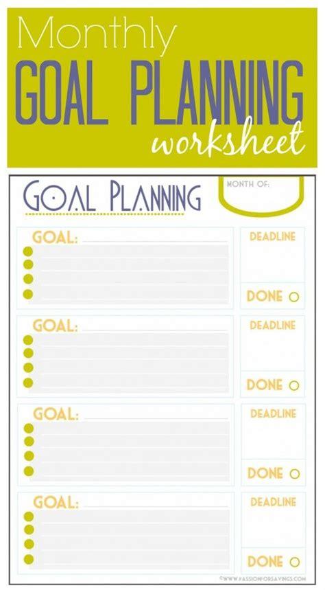 ideas goals worksheet pinterest goal