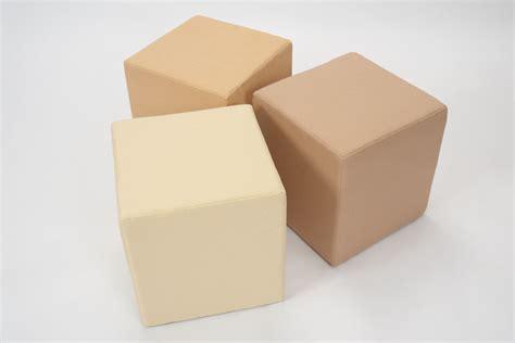cube upholstery 40cm upholstered cube pr home