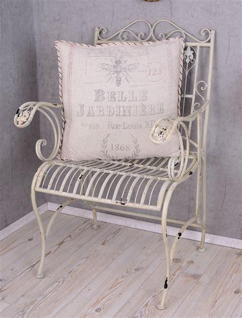 shabby chic garden chairs garden chair shabby chic chair antique white metal chair