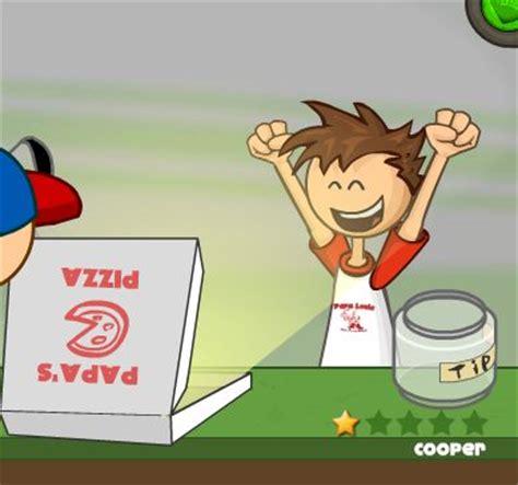 jeux de cuisine papa s jeux de papa pizza