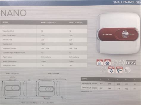 Water Heater Kirin ariston water heater wasser kirin brosur