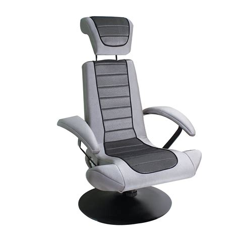 Stealth Chair by Dreamfurniture Stealth Boomchair Silver