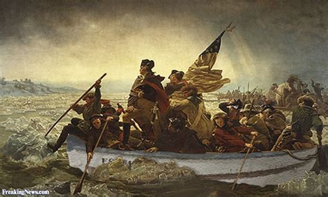george washington painting boat george washington s crossing pictures