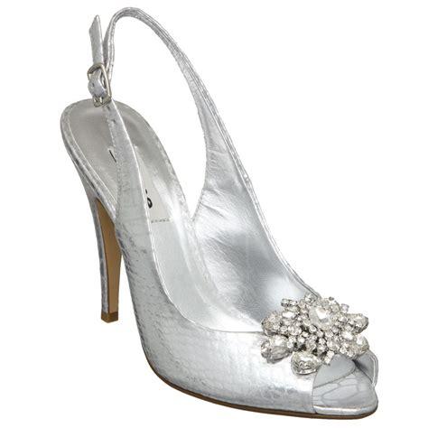 flower silver shoes new dune womens heppo d high heel silver flower