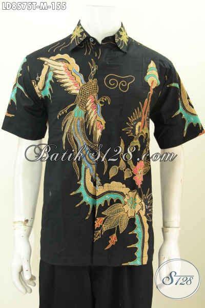 Baju Casual Terkini koleksi terkini baju batik casual untuk pria til keren dan tan hem batik lengan pendek
