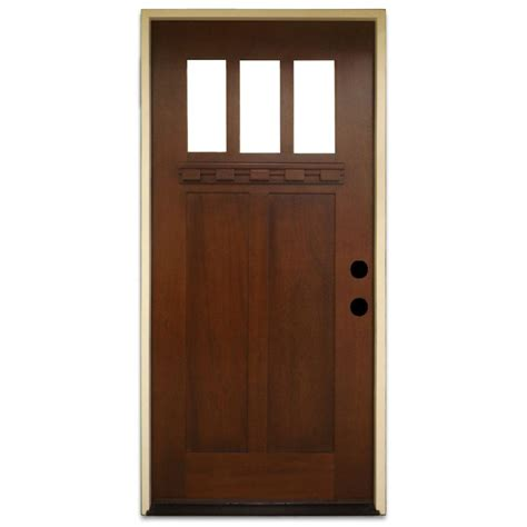 Doors Exterior Home Depot Wood Doors Front Doors Exterior Doors The Home Depot
