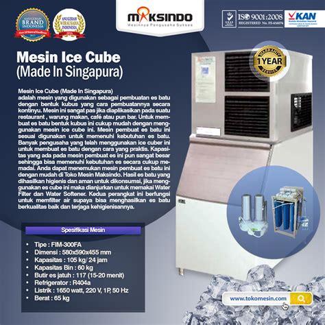 Mesin Cube mesin pembuat es batu cuber machine maksindo di tokomesinsolo