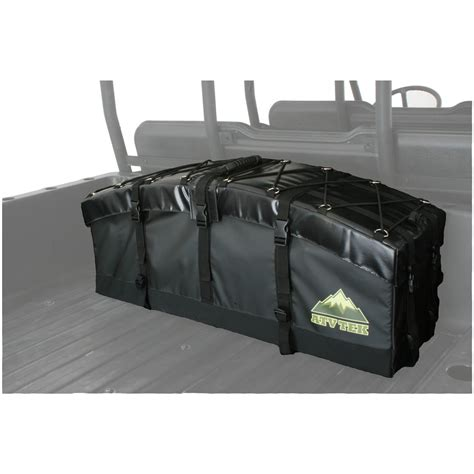 atv tek arch series utv rear cargo bag black 583652