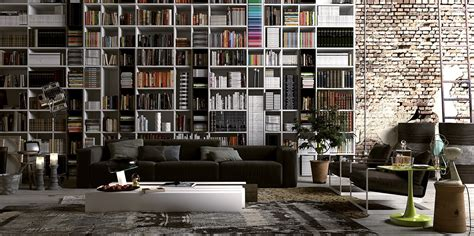 Colorful Bookcases Floor To Ceiling Bookcase Interior Design Ideas
