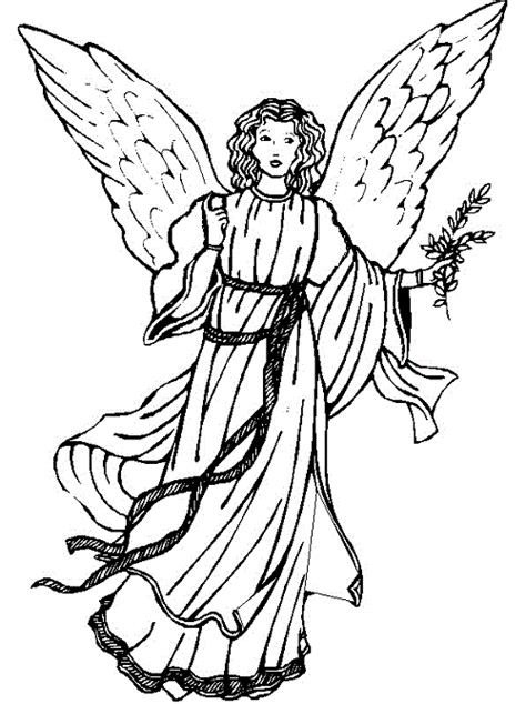 coloring pages guardian angels guardian angel coloring pages cliparts co