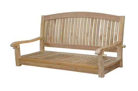 teak swing bench furnitureteak bench loveseat