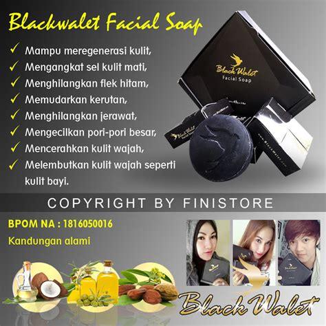 black walet soap bpom pusat stokis agen stokis