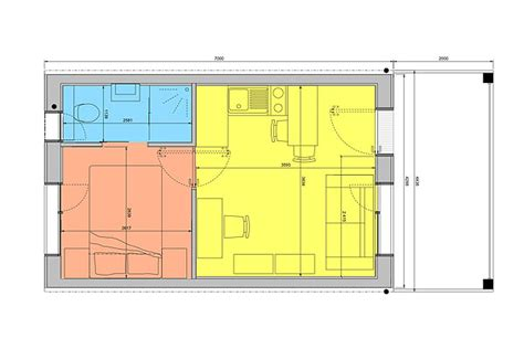 Efficient Studio Layout y cube welcome to affordable housing diy doctor