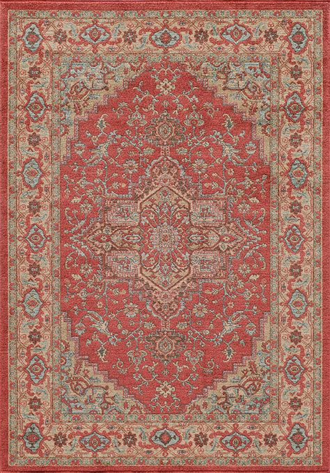 Ghazni Gz 04 Red Area Rug By Momeni Carpetmart Com Momeni Rugs