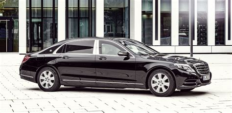 maybach mercedes benz mercedes maybach s600 guard benz lobs bomb proof limo