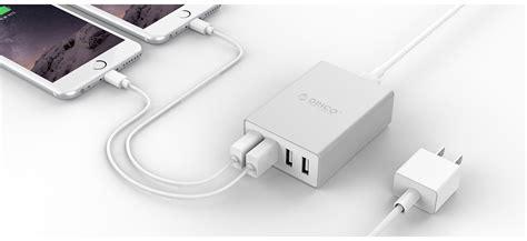 New Charger Orico Ask 4u Aluminium 4 Port Murah Stock Terbatas orico aluminum 4 port desktop charger ask 4u