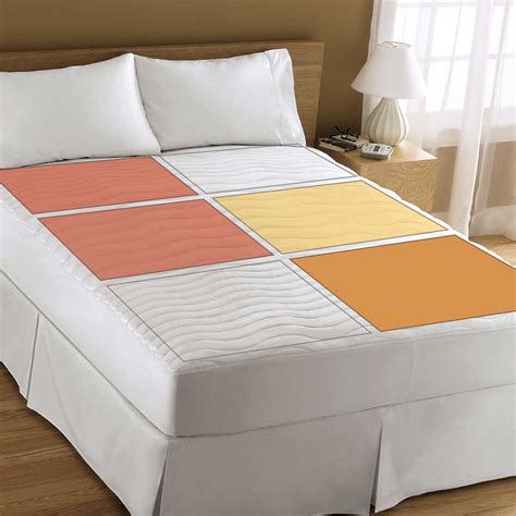 home design mattress pad home decor fetching heated mattress pad king sunbeam