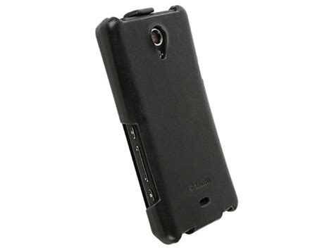 Xperia T Flip Cover krusell slimcover flip voor sony xperia t
