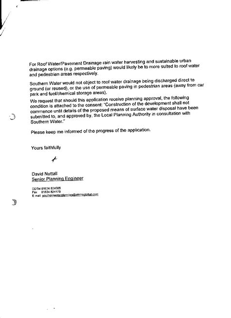 Patient Authorization Letter Southern Water Discharge Consent Letter