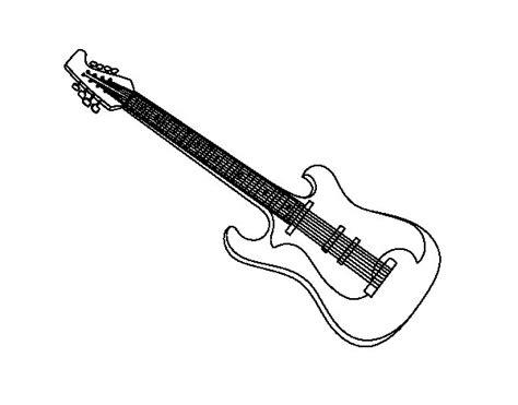 imagenes de guitarras blanco y negro dibujo de una guitarra el 233 ctrica para colorear dibujos net