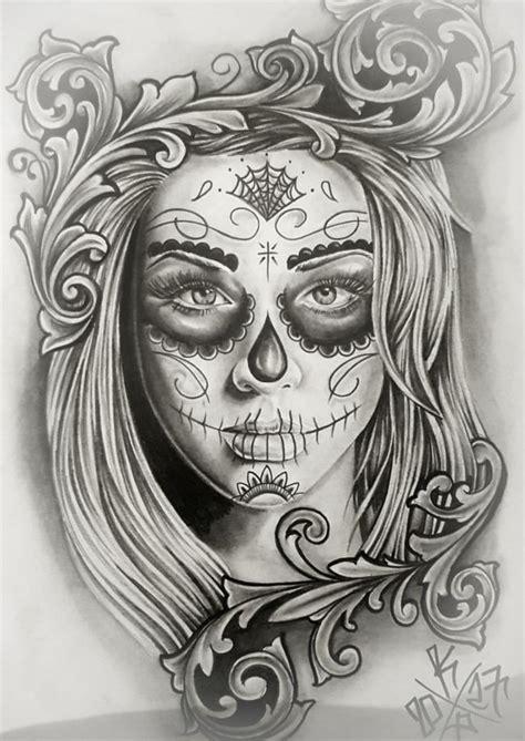 tattoos de catrinas the 25 best tatuagem ideas on