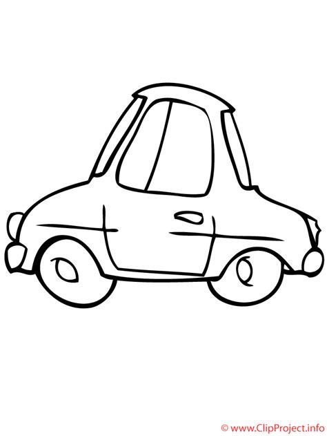 imagenes a blanco y negro de carros coche pequeno dibujo para colorear gratis