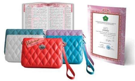 Al Quran Tihany A6 al quran terjemah cordoba tihany a6 resleting rahmat