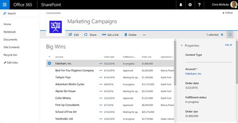 Modern Sharepoint Lists Are Here Including Integration