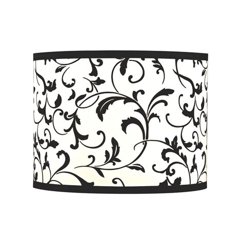 black and white l shades black and white ls black and white damask l