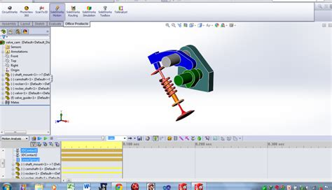 tutorial solidworks motion please help me how to spring in solidworks motion always