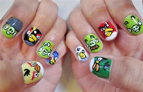 Berapa Manicure wordless wednesday angry birds nail saja nak