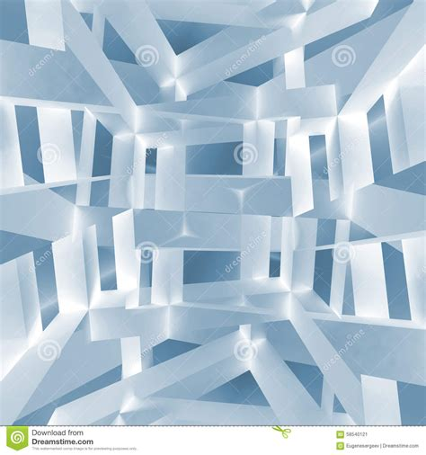 pattern based 3d image steganography 3d illustration of chaotic braced constructions stock