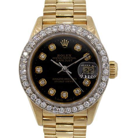 rolex 69178 datejust 18k gold