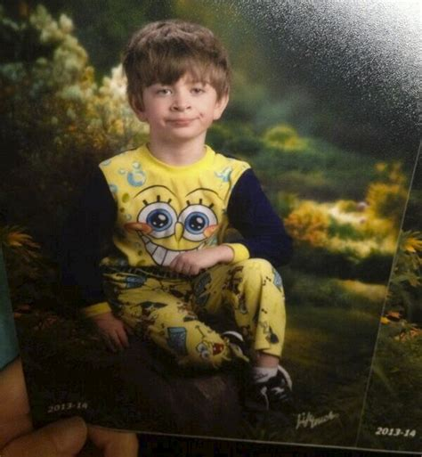 this kid s mom got picture day mixed up with pajama day on