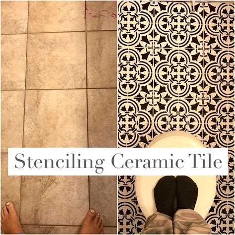 diy ceramic tile best 20 paint ceramic tiles ideas on