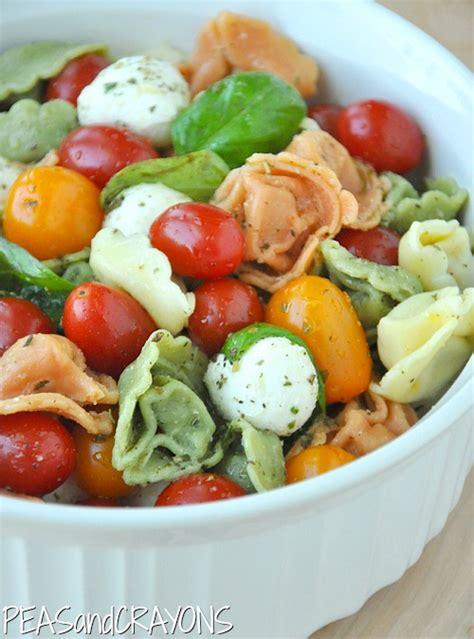 tortellini pasta salad caprese tortellini pasta salad