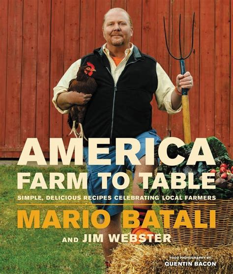 farm to table cookbook from the food editor mario batali kicks off holiday book