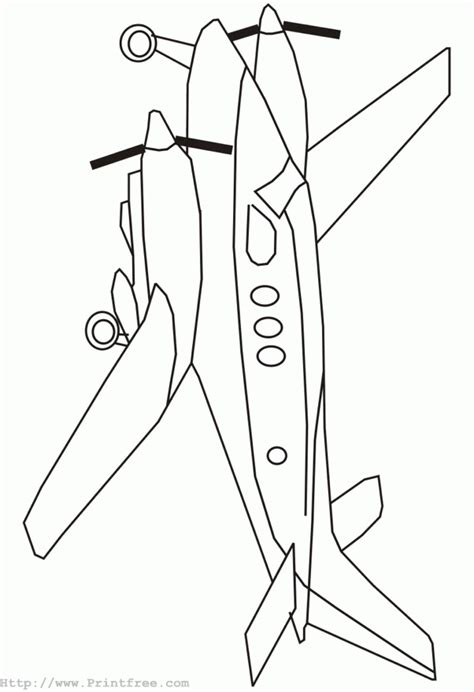 coloring page airplane outline airplane outline image coloring page airplane outline