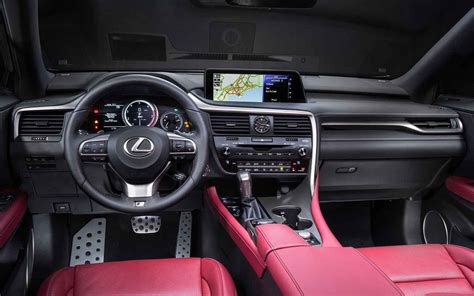 lexus rx black interior 2018 lexus rx 350 release date and price car models 2017