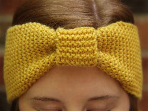 ear warmer knitting pattern the ear warmer