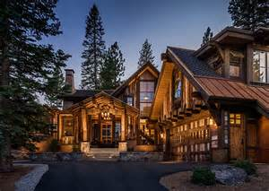 Cabin Style Home Stunning Cabin Retreat Brings Rustic Texan Charm To Lake Tahoe