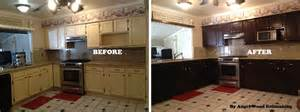 Refinish Kitchen Cabinet How To Refinish Kitchen Cabinets With Limited Budget Ward Log Homes