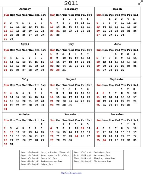 printable calendar us 2011 calendar with holidays search results calendar 2015