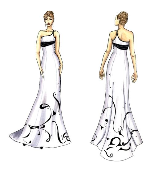 design dress step by step fashionable dress drawing fashion trends 2016 2017