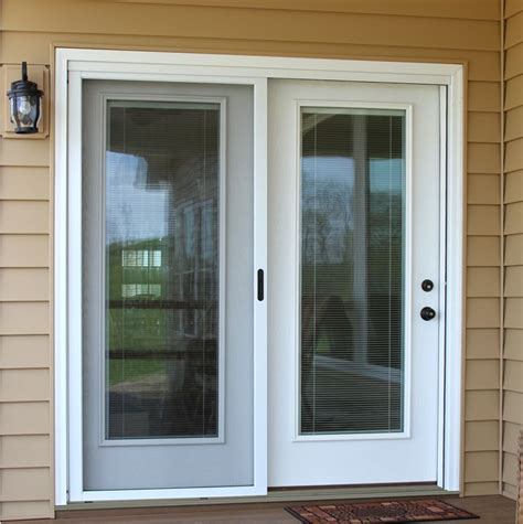Center Swing Patio Doors With Screens by Center Hinged Patio Door Search Home