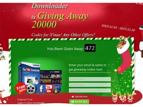 Leawo Giveaway - leawo software giveaway in regalo 20000 copie di youtube downloader per windows e mac
