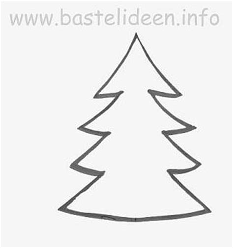 kostenlose bastelvorlage tannenbaum