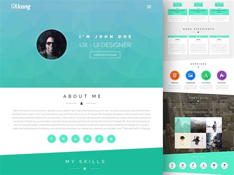 Free Portfolio Website Templates Psd 187 Css Author Email Templates For Web Designers And Developers